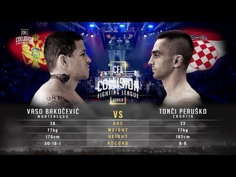 CFL- Vaso Bakocevic vs Tonci Perusko HD