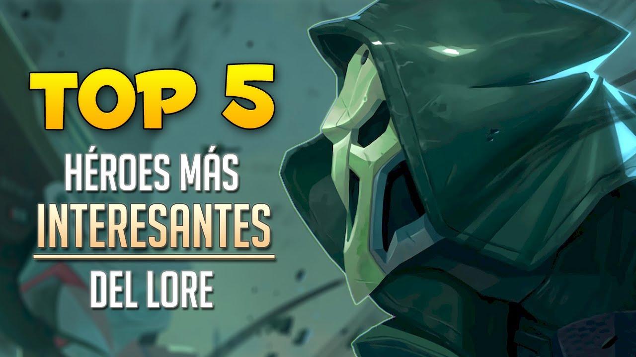 TOP 5   Los HÉROES más INTERESANTES de Overwatch