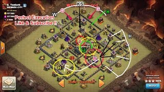 Clash of Clans - Ep.15 -Indepth TH9 Base Beat Video - GoVaHo Attack Strategy