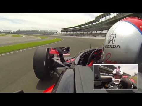 Take a lap around Indy 500 track at the Indianapolis Motor Speedway