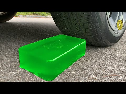 Experiment Car Vs Jelly Vs Slime | Crushing Crunchy \u0026 Soft Things By Car | Test S