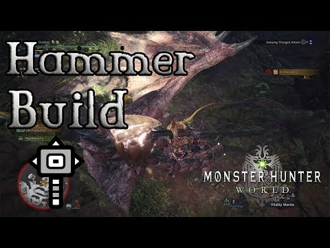 Monster Hunter World - Hammer Build: Para-KO