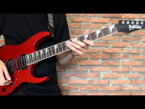 Video Meshuggah Demiurge 6 String Guitar Cover