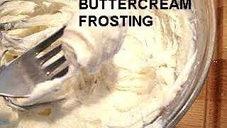 Buttercream Frosting, Best, Easy Recipe