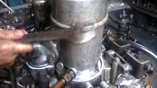 ГАЗ 53 Накачка фильтра маслом