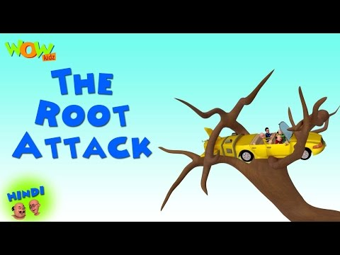 The Root Attack - Motu Patlu in Hindi - 3D Animation Cartoon for Kids -As on Nickelodeon thumbnail