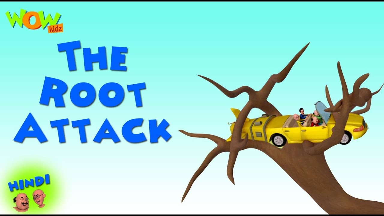 The Root Attack Motu Patlu In Hindi 3d Animation Cartoon For