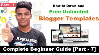 How to Download Free Blogger Templates ( RipoN )