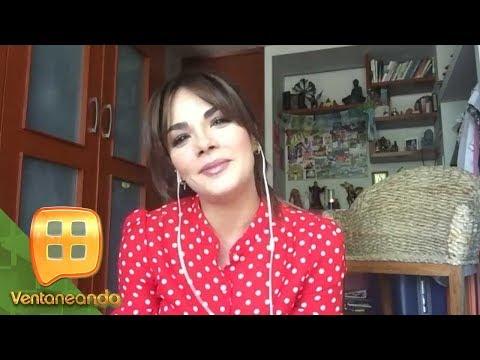 ¡Rossana Nájera narra el reencuentro con su novio en México, en plena contingencia!    Ventaneando