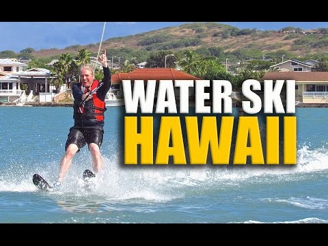 Hawaii | Water Skiing at Oahu's Koko Marina