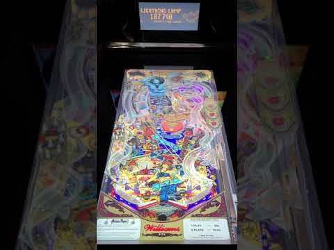 Arcade1up Pinball Tales of the Arabian Nights Gameplay from Kevin F
