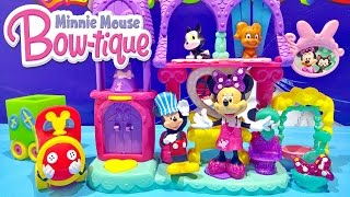 disney junior minnie mouse bowtique pampering pets salon mickey mouse choo choo train toys video