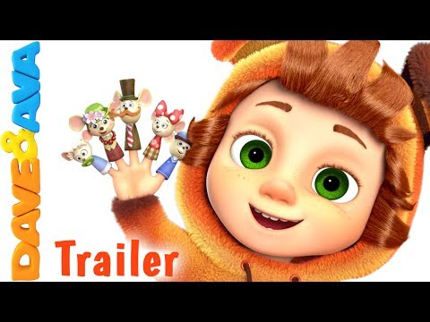 Thumbnail: 🤗 Finger Family Song for Kids - Trailer | Nursery Rhymes and Kids Songs from Dave and Ava 🤗