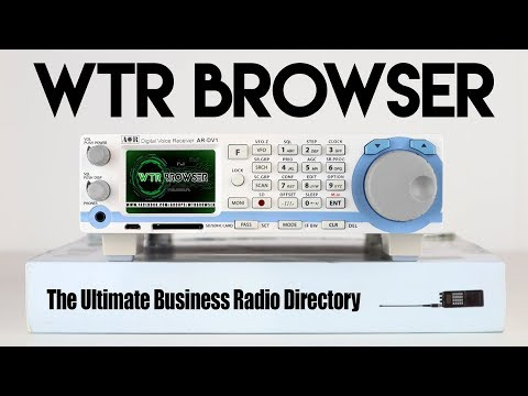 WTR Browser - The Radio Scanning Swiss Army Knife!