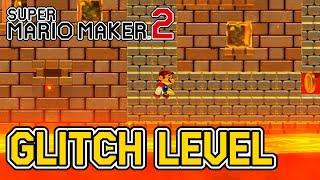 CRAZY Glitch Level In Super Mario Maker 2