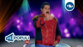 Maburro tuvo la osadía de presentarse en Yo Me Llamo | Voz Populi Te Ve