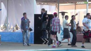 AKCTV: Yota Summer Party 2010 + Tesla Boy (2 day)