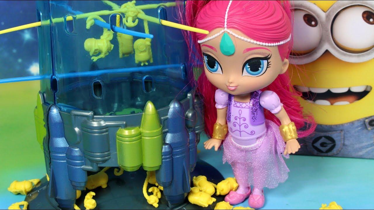 Minionki • Spadające Minionki • Shimmer i Shine • gry dla dzieci