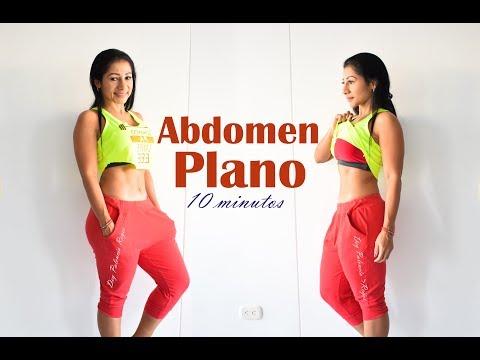 rutina de abdomen 10 minutos