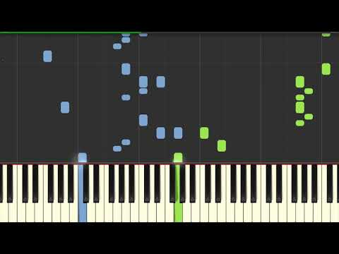 Doki Doki Literature Club Your Reality Credits | Piano Tutorial for Synthesia