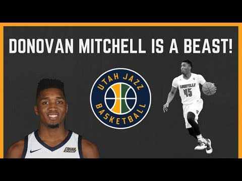 DONOVAN MITCHELL: The Utah Jazz Rookie is SHOCKING the NBA!