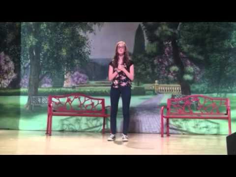 13 year old Lauren Mask ~ Hallelujah ~