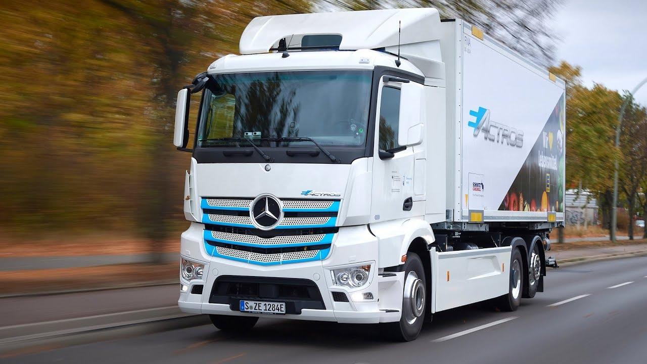 2019 Mercedes Benz E Actros Electric Truck