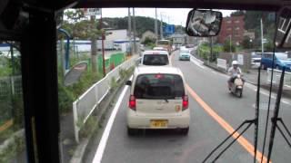 DSCF0150本郷台駅から上郷・森の家へのバス渋滞