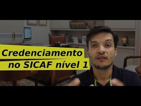 Como fazer o credenciamento no SICAF nível 1 PJ