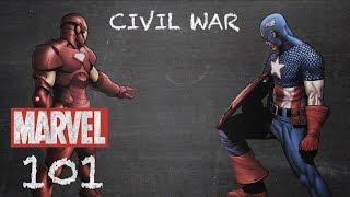 The Super Hero Registration Act - Civil War - Marvel 101