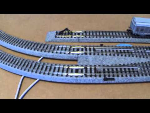 kato unitrack dcc wiring for small layout n scale youtube rh youtube com Kato HO Train Layouts Kato HO Trains