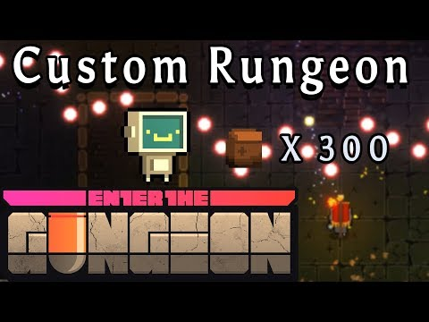 Enter the Gungeon | Robot + 300 Junk | Custom Rungeon
