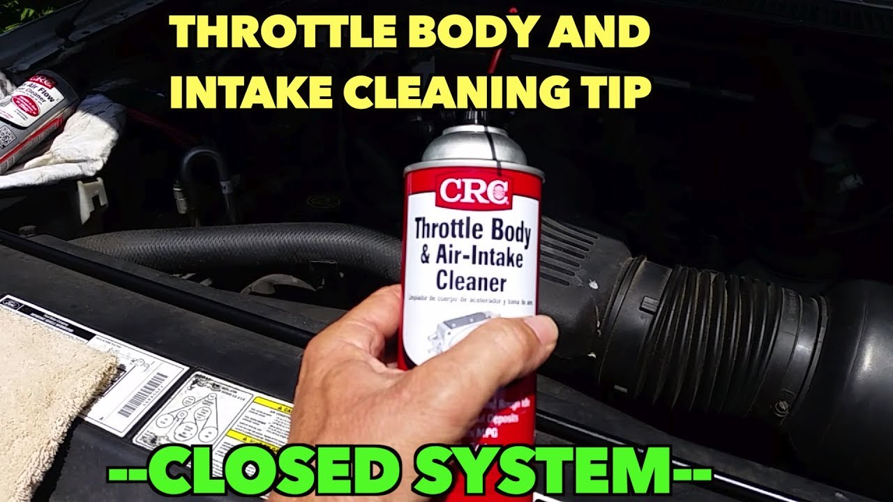 Quick Tip-Throttle body intake Cleaning     Without opening the system!
