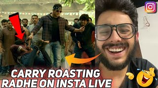 Carry's Reaction On Radhe Movie Trailer
