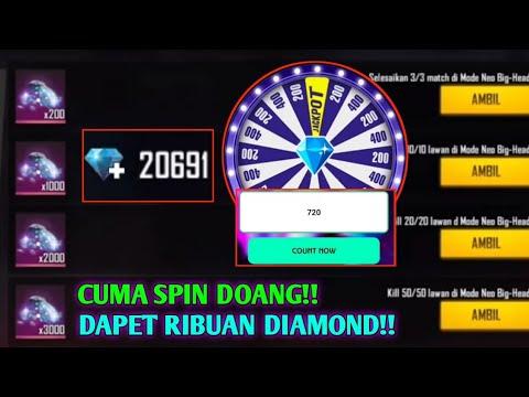 CUMA SPIN BERHADIAH DIAMOND?? CARA MENDAPATKAN DIAMOND FREE FIRE GRATIS 2021
