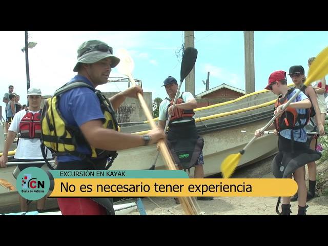 Limosa Kayaks: Travesías por el arroyo San Clemente