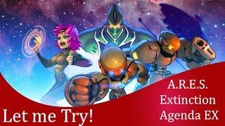 Let me try A.R.E.S. Extinction Agenda EX (PC version)