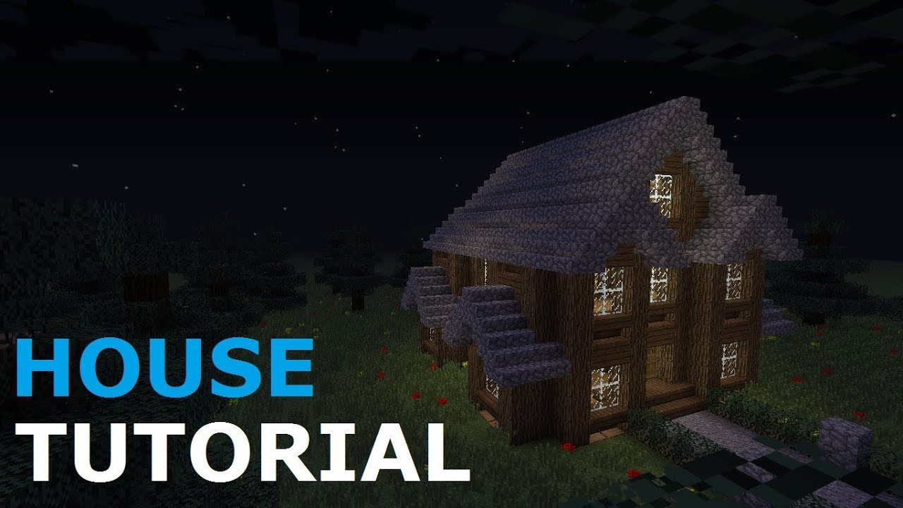 Minecraft tutorial nice spruce house youtube for Nice house music