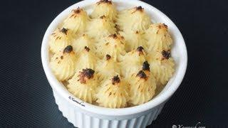 Sweet Potato Mash (maash Bataato Macaan) بوريه البطاطا الحلوة