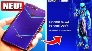 Fortnite Honor View 20 Guard Outfit | Mobile Skin! | Galaxy 2.0 - Fortnite Battle Royale Deutsch