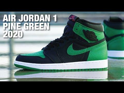 Air Jordan 1 Pine Green 2020 REVIEW & On Feet