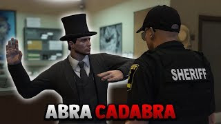 MAGICIAN DISAPPEARS IN FRONT OF COPS   GTA 5 ROLEPLAY
