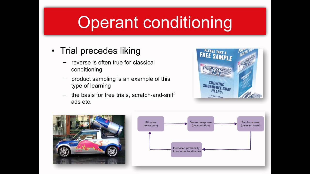 operant conditioning ads