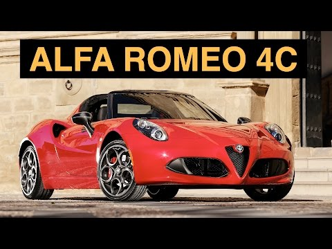 2015 alfa romeo 4c launch edition start up exhaust and autos post. Black Bedroom Furniture Sets. Home Design Ideas