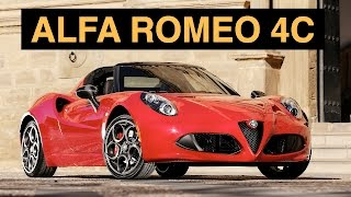 2015 Alfa Romeo 4C Review - Impractical, Strenuous, Superb