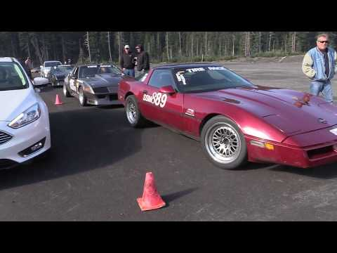 ACCO   Autocross Club of Central Oregon Mt. Bachelor Sept. 17th 2017 Group 1, Round 1