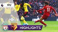Salah zaubert Liverpool zum Sieg | FC Liverpool - FC Watford 2:0 | Highlights - Premier League
