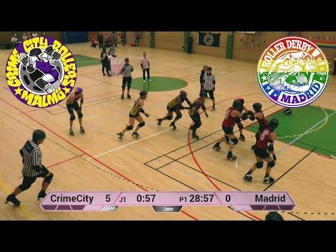 Crime City B vs Madrid A - Nov 2016