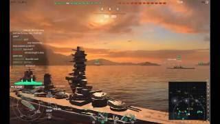 World Of Warships-世界戰艦-Japanese battleship Fusō-扶桑號戰艦