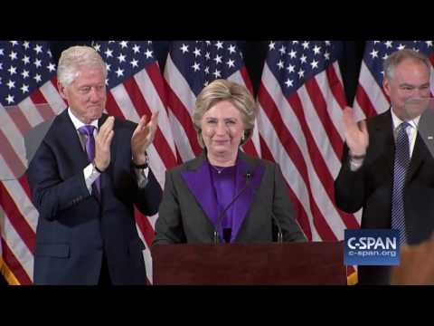 Hillary Clinton FULL Concession Speech (C-SPAN)